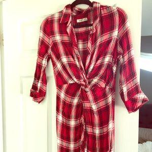 Dex Plaid Dress